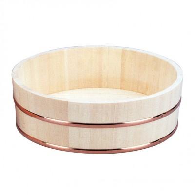 Sushi-Hangiri aus Holz groß