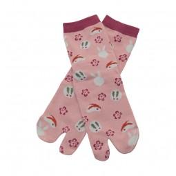 Tabi-Socken Usagizukushi