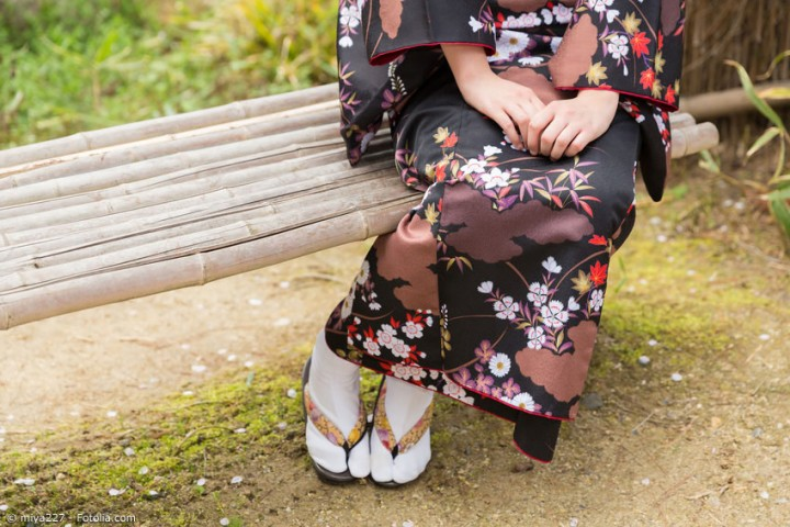 Die praktischen Seiten der Tabi Socken