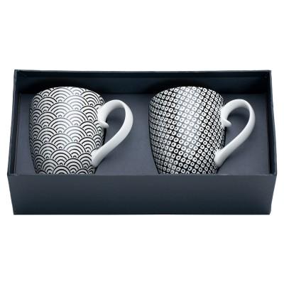 Tassen-Set Japan Schwarz
