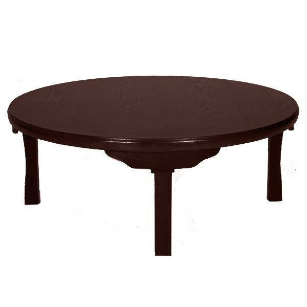 tatami tisch rund tische wohnen japanwelt. Black Bedroom Furniture Sets. Home Design Ideas