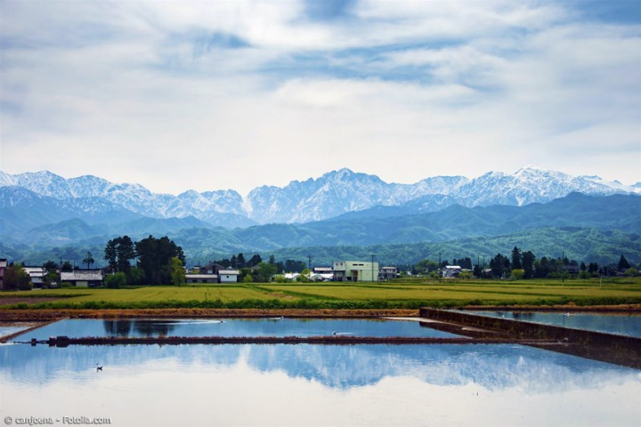 Schnee im Sommer – das gibt es in der Präfektur Toyama Japan!