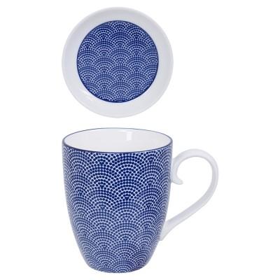 Tee-Set Japan Blau
