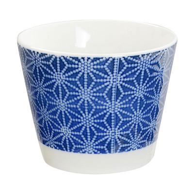 Teebecher 'Japan Blau – Asanoha' klein 8,5x6,9cm