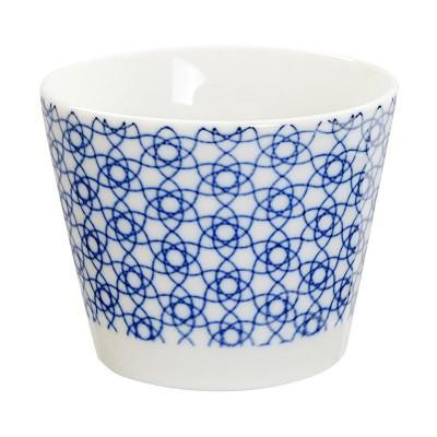 Teebecher 'Japan Blau – Kagome Hana' klein 8,5x6,9cm