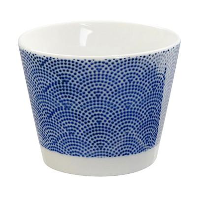 Teebecher 'Japan Blau – Samekomon' klein 8,5x6,9cm