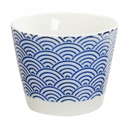 Teebecher 'Japan Blau – Seigaiha' klein 8,5x6,9cm