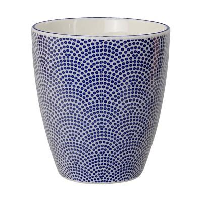 Teebecher 'Japan Blau – Samekomon' groß 8,2x7,5cm