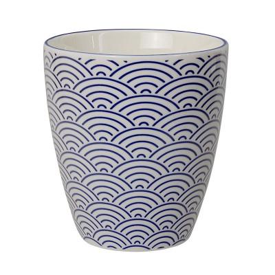 Teebecher 'Japan Blau – Seigaiha' groß 8,2x7,5cm