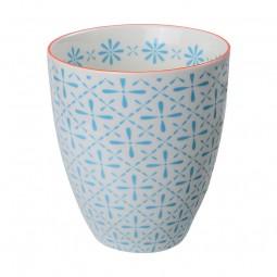 Teebecher 'Nanairo – Kamezashi blau' 8,7x9,8cm