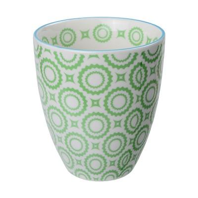 Teebecher 'Nanairo – Kiku grün' 8,7x9,8cm