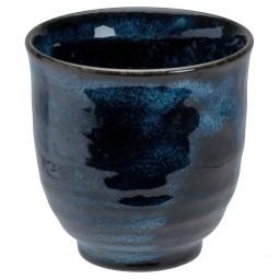Teebecher 'Kobaltblau', leicht gekrümmt