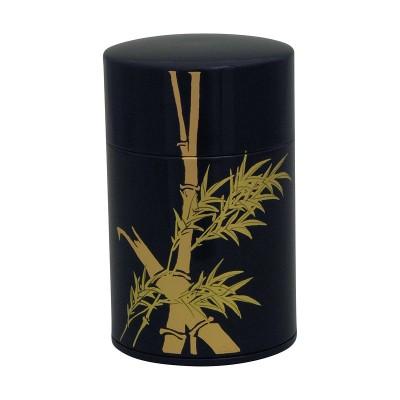 Teedose - Bamboo schwarz 100g