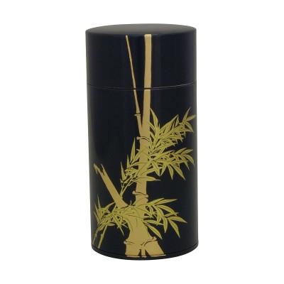 Teedose - Bamboo schwarz 200g