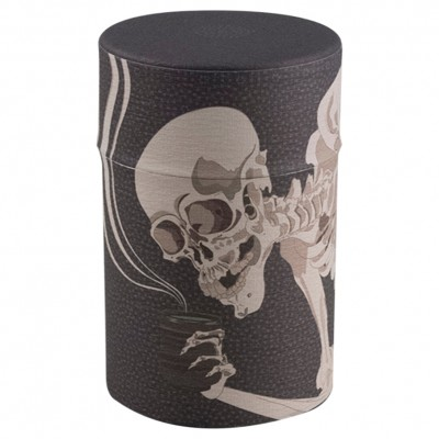 Teedose Gaikotsu mit Skelett Motiv