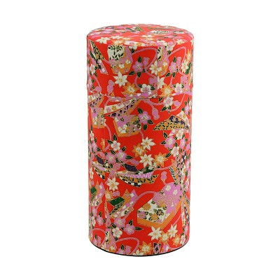 Teedose 'Hana Origami Rot' für 200g Tee