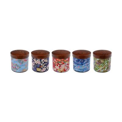 Teedose 'Nami & Hana' 8,4x8,7cm für 150g Tee