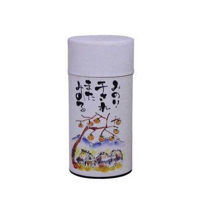 Teedose - Pflanzenmotiv