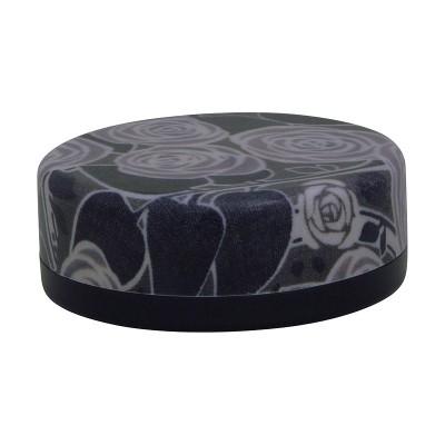 Teedose - Rose schwarz S