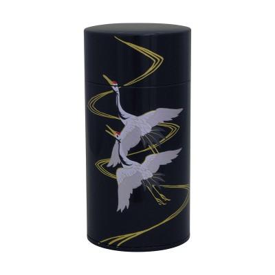 Teedose - Tsuru schwarz 200g