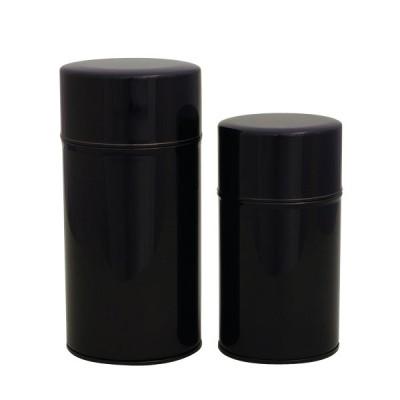 Teedosenset - Simpel schwarz