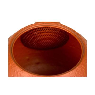 Teekanne Hokuryu Gama, rot, 300ml, Handarbeit, Design: Umehara Tatsuo