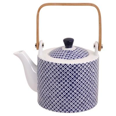 Teekanne Japan Blau