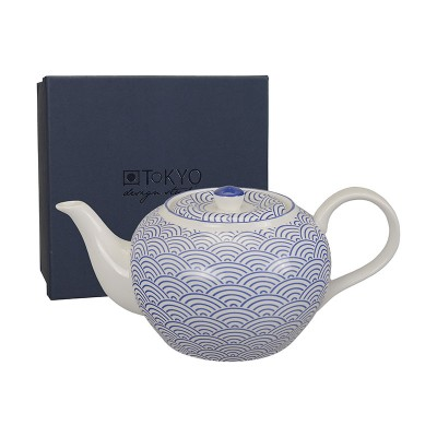 Teekanne 'Japan Blau – Seigaiha' 1L
