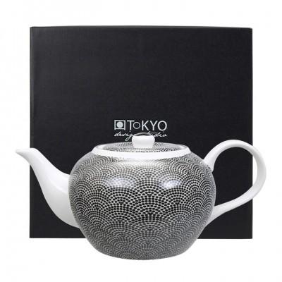 Teekanne Japan Schwarz 1,2l - Samekomon
