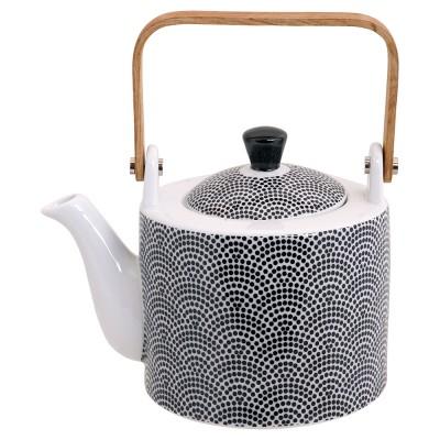 Teekanne Japan Schwarz