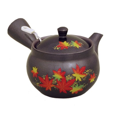 Teekanne Momiji schwarz Griffsieb 380ml