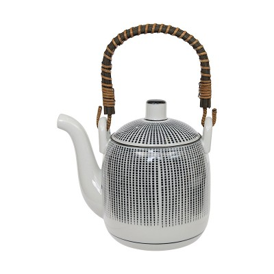 Teekanne 'Sedan Tokusa' schwarz