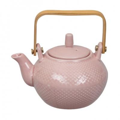Teekanne 'Struktur - Mizutama - rosa' 0,8l