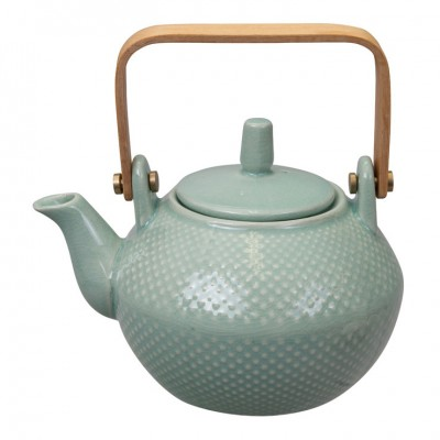 Teekanne 'Struktur - Mizutama - türkis' 0,8l