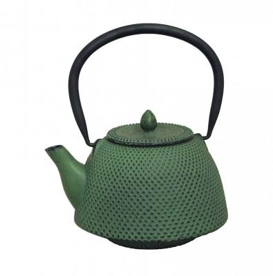 Teekessel Nambugata Arare, 0,7l grün, Gußeisen