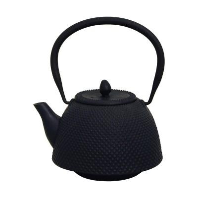 Teekessel Nambugata Arare, 0,7l schwarz, Gußeisen