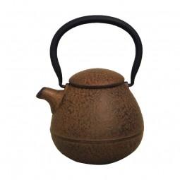 Teekessel Oriole,Walnuß, Gußeisen 0.45L