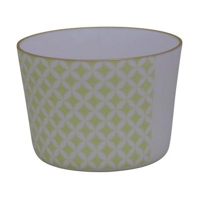 Teeschale - Asanoha grün