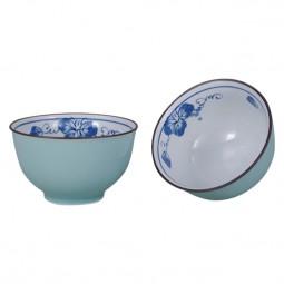 Teeschale Budo blau