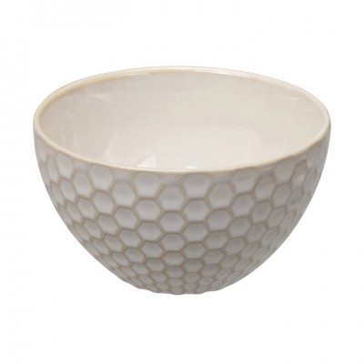Teeschale 'Struktur - Kikko - weiß' 9cm
