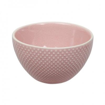 Teeschale 'Struktur - Mizutama - rosa' 9cm