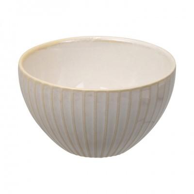 Teeschale 'Struktur - Shimagara - weiß' 9cm