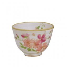 Teeschalen-Set - Blumenmotiv
