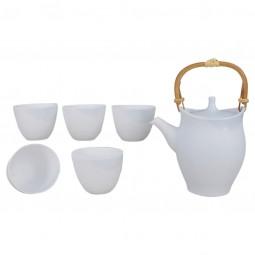 Teeset Kannon weiß