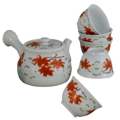 Teeset - Momiji - 5 Becher + Kanne 280ml