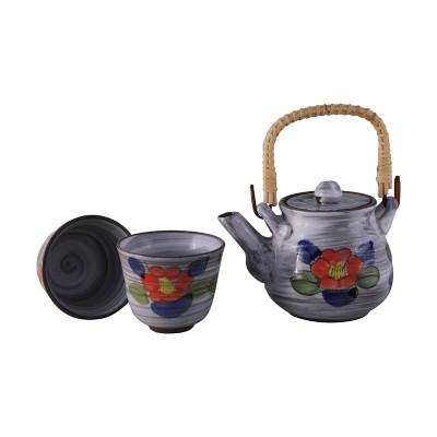 Teeset - Tsubaki - 2 Teebecher + Kanne 460ml