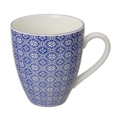 Teetasse 'Japan Blau – Hakkakushokko' groß 8,7x9,8cm
