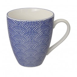 Teetasse 'Japan Blau – Samekomon' groß 8,7x9,8cm