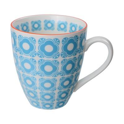Teetasse 'Nanairo – Hakkakushokko blau' 8,7x9,8cm