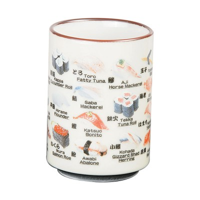 Teetasse Sushi Design